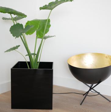 Acrylic -Blumenkübel