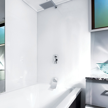 Acrylic - shower screens