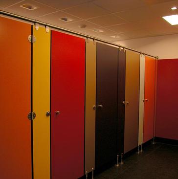 HPL - Duschwand