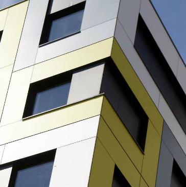HPL - exterior wall cladding